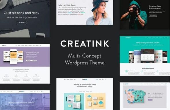 Creatink - MultiConcept Responsive WordPress Theme