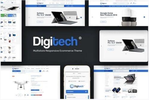 Digitech - Technology Theme for WordPress