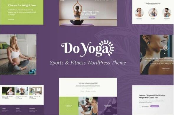 Do Yoga - Fitness Studio & Yoga Club WP Theme