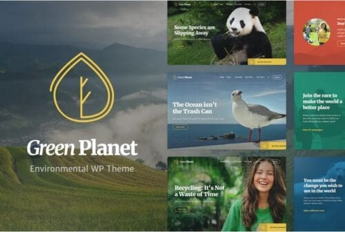 Ecology & Environment WP Theme - Green Planet