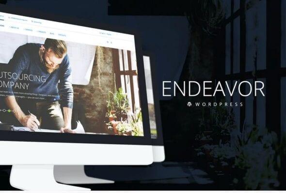 Endeavor — Multipurpose Corporate WordPress Theme