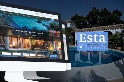 Esta — Responsive Real Estate WordPress Theme