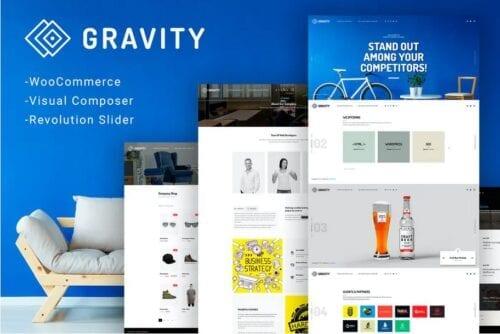 Gravity - ECommerce, Agency & Presentation Theme