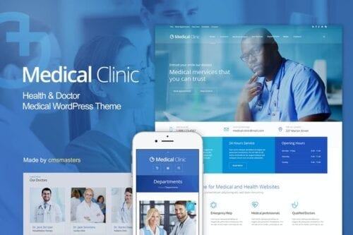 قالب وردپرس پزشکی Medical Clinic - Health & Doctor Medical WP Theme