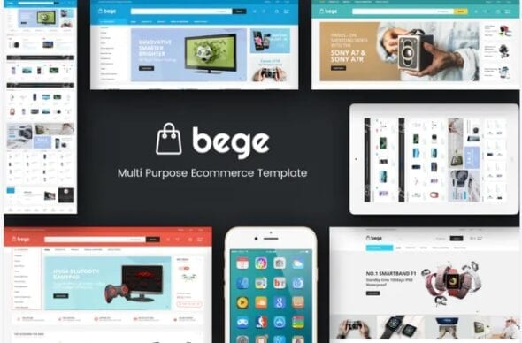 قالب فروشگاه لوازم دیجیتال و الکترونیک Bege - Responsive Magento Theme