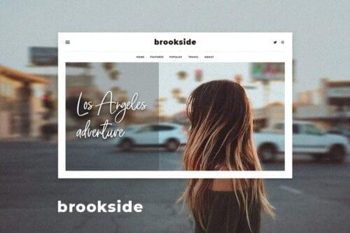 قالب وردپرس بلاگ Brookside - Personal WordPress Blog Theme