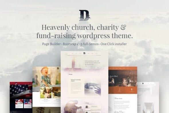 پوسته وردپرس کلیسا Divinity - Church& Nonprofit wordpress theme
