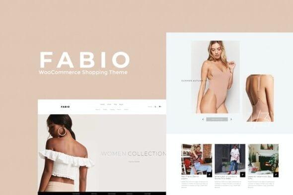 پوسته وردپرس فروشگاهی Fabio WooCommerce Shopping Theme