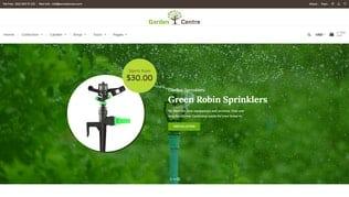 قالب فروشگاه لوازم و تجهیزات باغبانی Garden Accessories | Gardening, Landscaping Tools
