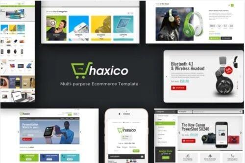قالب فروشگاه لوازم دیجیتال و الکترونیک Haxico - Technology Responsive Magento Theme