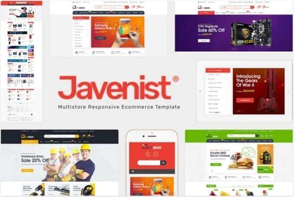 afzoneha.com Javenist Multipurpose eCommerce WordPress Theme - افزونه ها | شبکه خرید و فروش منابع دیجیتالی