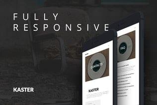 پوسته وردپرس رزومه و نمونه کار Kaster — Creative, Blog, Portfolio WordPress Theme