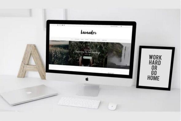 پوسته وردپرس شخصی و بلاگ Lavander - A Lifestyle WordPress Blog Theme