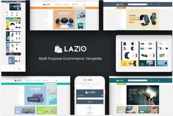 قالب فروشگاهی Lazio - Multipurpose Responsive Opencart 2.3 & 3.x