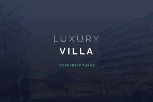 قالب وردپرس آژانس املاک Luxury Villa - Property Showcase WordPress Theme