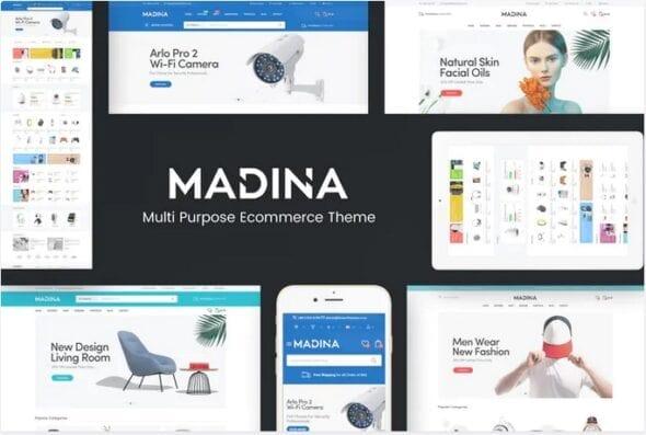 قالب فروشگاهی Madina - Responsive OpenCart Theme