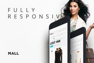 قالب وردپرس فروشگاهی Mall — WooCommerce Responsive WordPress Theme