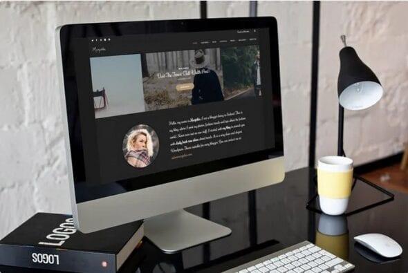 قالب وردپرس بلاگ Marjetka - A Feminine WordPress Blog Theme