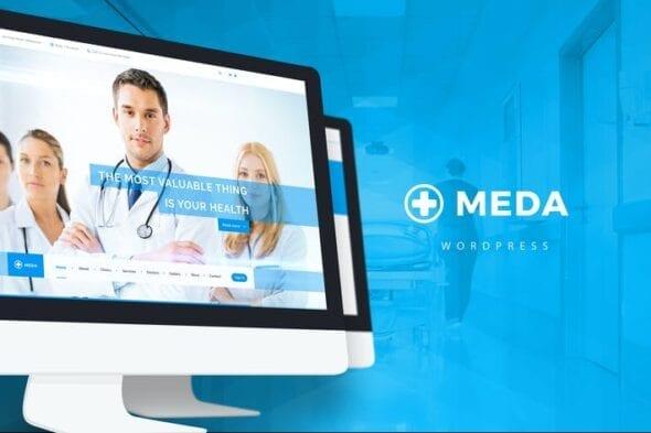 قالب وردپرس سلامت و پزشکی Meda — Health and Medical WordPress Theme