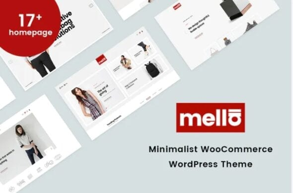 قالب وردپرس فروشگاه Mella - Minimalist WooCommerce WordPress Theme