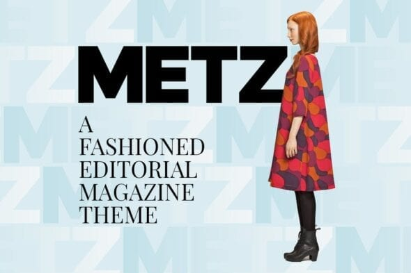 پوسته وردپرس بلاگ و مجله Metz - Editorial Magazine Blog Theme