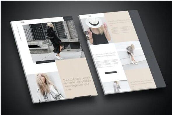 قالب وردپرس مد و فشن Mia - Creative Fashion WordPress WooCommerce Theme
