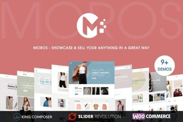 پوسته وردپرس تجارت الکترونیک Moros - eCommerce WordPress Theme
