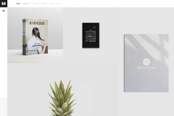پوسته وردپرس نمونه کار Murbani - Minimal Portfolio WordPress Theme