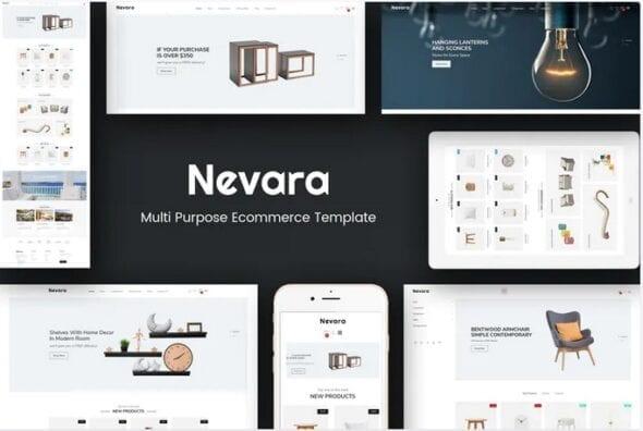 قالب فروشگاه مبلمان و دکوراسیون داخلی Nevara - Furniture & Interior Opencart 3 Theme