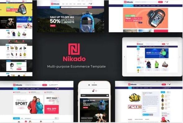پوسته وردپرس فروشگاهی Nikado -Responsive Theme for WooCommerce WordPress