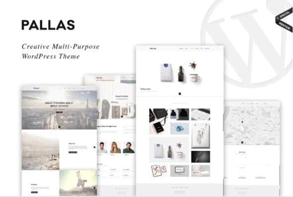 قالب وردپرس چندمنظوره Pallas - Creative Multi-Purpose WordPress Theme