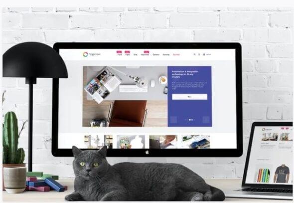 قالب فروشگاه لوازم دیجیتال و الکترونیک Progressive — Responsive Magento Theme
