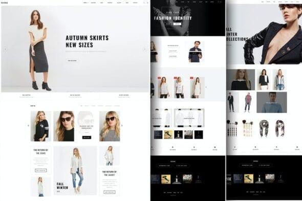 پوسته وردپرس فروشگاهی Reverse - WooCommerce Shopping Theme