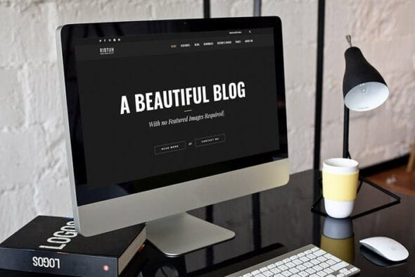 قالب وردپرس بلاگ RibTun - WordPress Blog Theme For Writers