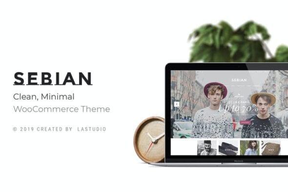 قالب وردپرس فروشگاه چندمنظوره Sebian - Multi-purpose WordPress WooCommerce Theme
