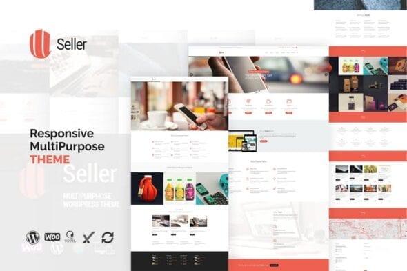 قالب وردپرس چندمنظوره ریسپانسیو Seller - Responsive MultiPurpose WordPress Theme