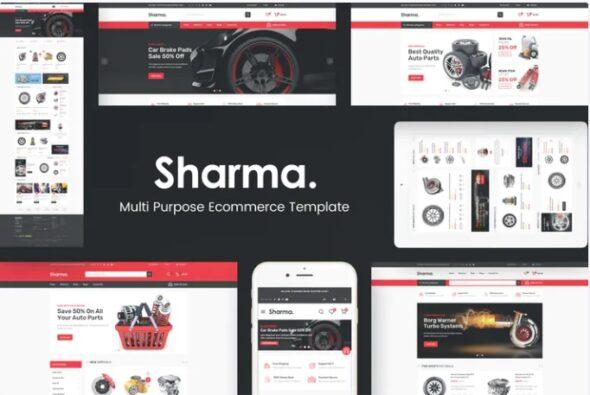 قالب فروشگاه لوازم یدکی خودرو Sharma - Accessories Car OpenCart Theme