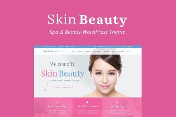 قالب وردپرس سالن زیبایی و اسپا Skin Beauty - Beauty | Spa | Salon WordPress Theme