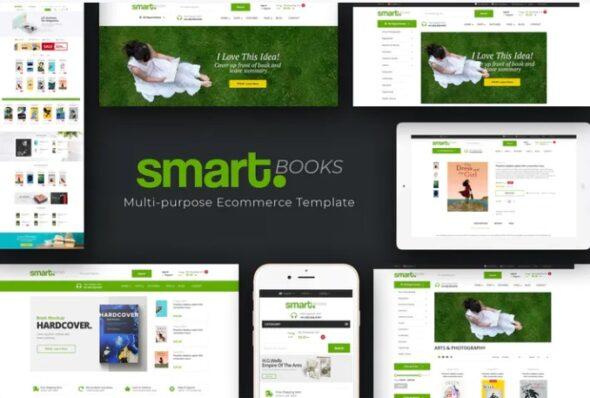 قالب فروشگاه کتاب SmartBook - OpenCart Theme