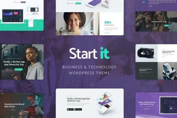 پوسته وردپرس تکنولوژی و استارتاپ Start It - Technology & Startup WP Theme