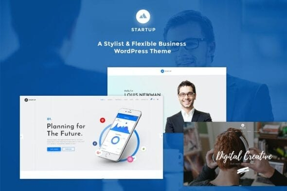 پوسته وردپرس چندمنظوره StartUp - Responsive Multi-Purpose WordPress Theme