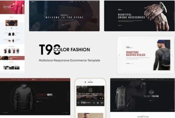 قالب فروشگاه مد و فشن T90 - Fashion Responsive OpenCart Theme