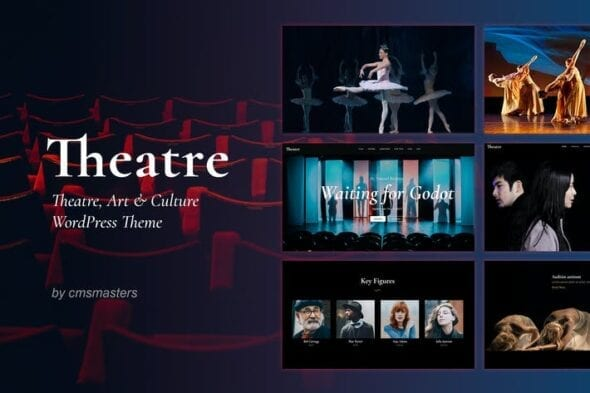 قالب وردپرس کنسرن ها و رویدادهای هنری Theater - Concert & Art Event Entertainment Theme