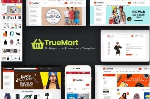 قالب فروشگاهی TrueMart - Mega Shop OpenCart Theme