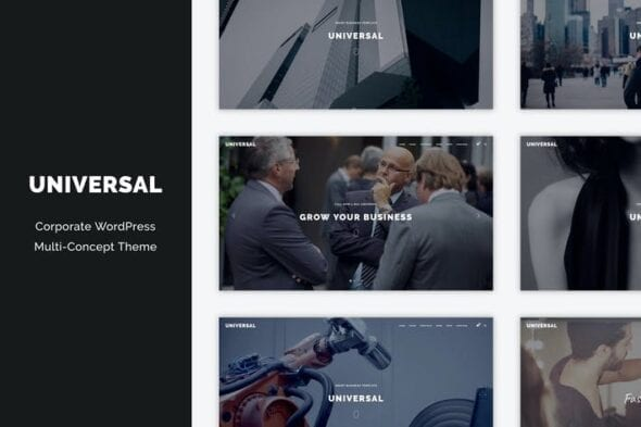 قالب وردپرس شرکتی Universal - Corporate WordPress Multi-Concept Them