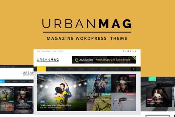 قالب وردپرس خبری مجله ای Urban Mag - News & Magazine WordPress Theme