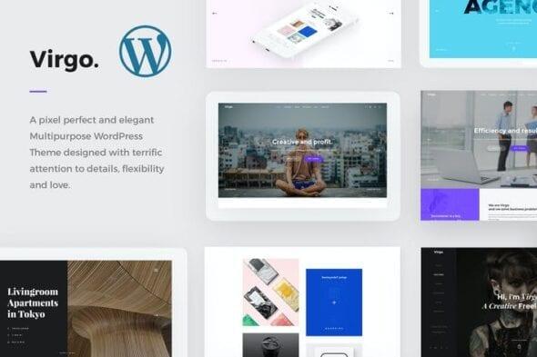قالب وردپرس چندمنظوره Virgo. - Multipurpose WordPress Theme