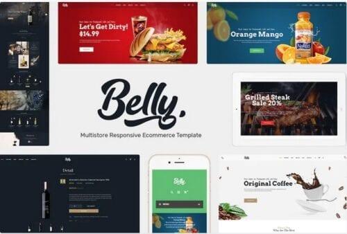 قالب فروشگاه مواد غذایی و نوشیدنی Wine, Food & Drink Theme for Opencart 3.x