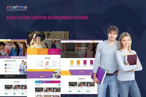 پوسته وردپرس مراکز آموزشی Academia - Education Center WordPress Theme