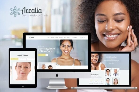 قالب وردپرس پزشکی Accalia